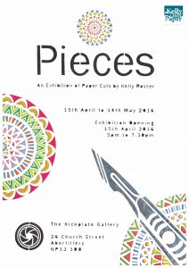 Pieces poster a4