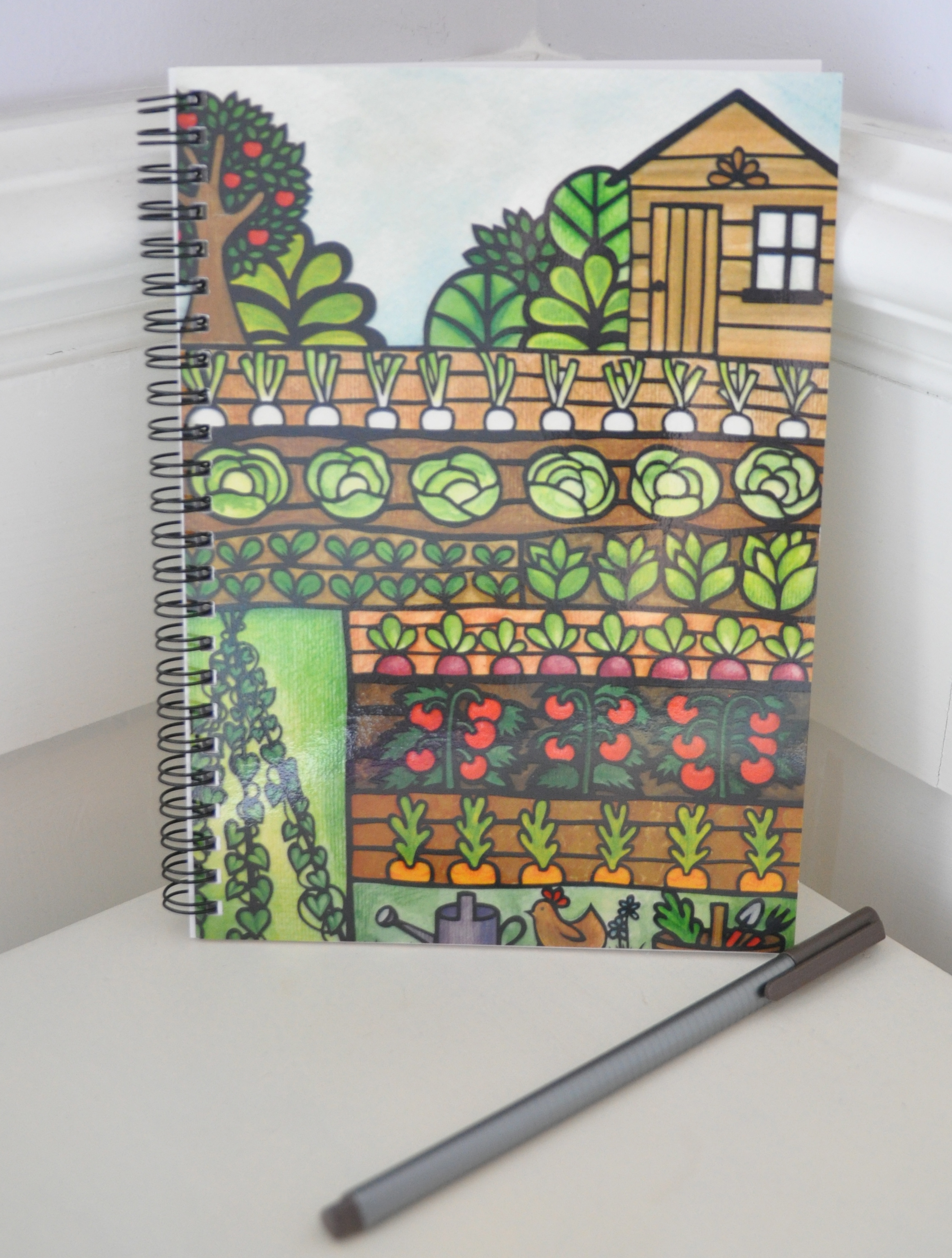 Dats allotment a5 notebook with free p p kelly cuts paper for Allotment tools for sale
