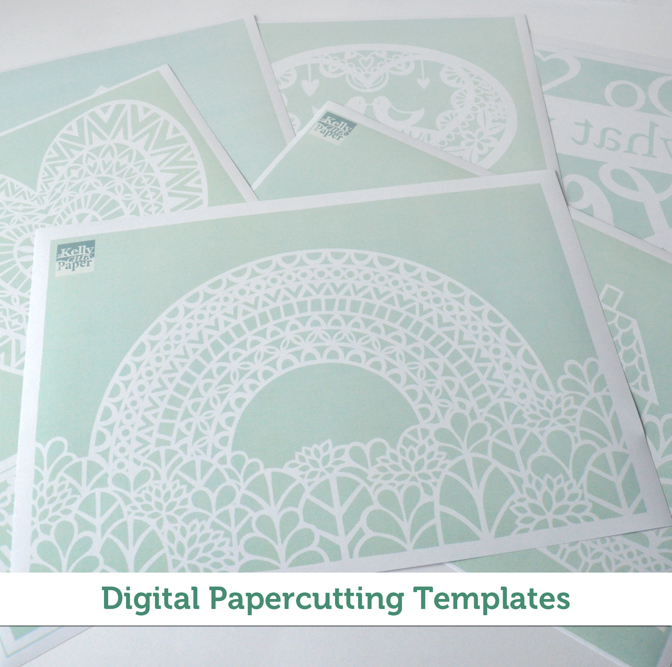 Digital Papercutting Template Bundle for Beginners – templates ...