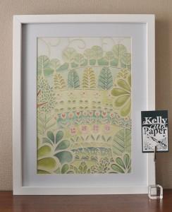 Flower Garden print