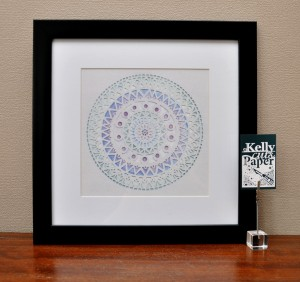 Frozen Mandala print