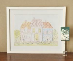 Pastel Row Print