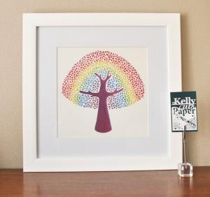 Rainbow Tree print2
