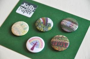 Rainbow magnets close up