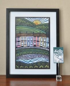 Welsh Terrace print